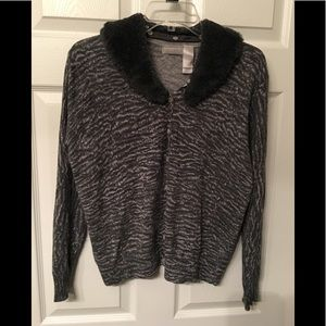 Liz Claiborne button up sweater
